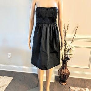 BCBGMAXAZRIA Classic Black Evening Dress Size L